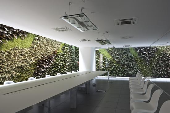 (ITA) Giardino verticale Santoni Spa -Corridonia