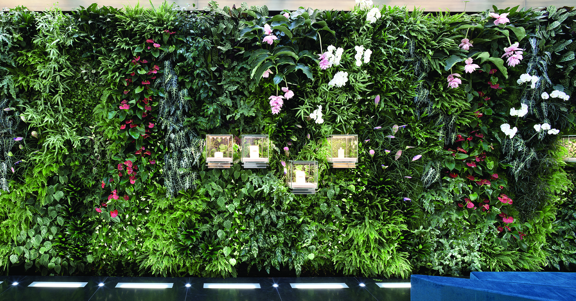 Prisma milano giardino verticale pelle verde epigea for Giardini verticali milano